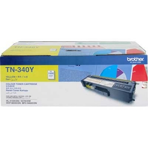 Mực in Brother TN 340Y Yellow Toner Cartridge