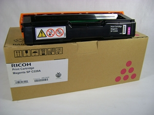 Mực in Ricoh C220S Magenta Toner Cartridge (406061)